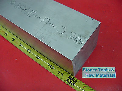 "3"" X 3"" ALUMINUM 6061 SQUARE SOLID BAR 12"" long T6511 Flat Mill Stock"