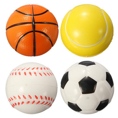 Baseball Hand Wrist Exercise Stress Relief Relaxation Squeeze Venting Foam Ball