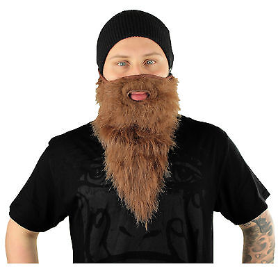 Neff Bearded Mask - Ski Mask Snowboard Mask IF13514 Face Mask Mask (Brown)