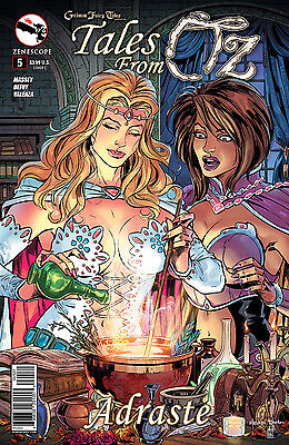 The Courier 4 Cover C Grimm Fairy Tales
