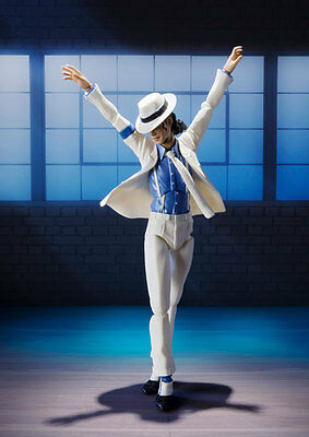 Michael Jackson Bandai S.H Figuarts MJ Smooth Criminal Action Figure Kin of POP