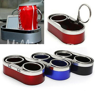 Stylish  Dual Hole Cup Holder Stand Car Auto Driving Mount Drink Bottle