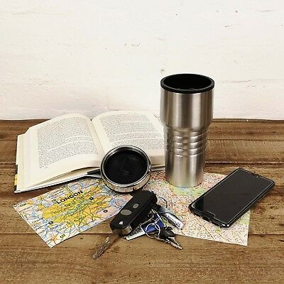 Contemporary Insulated Thermal Thermos Tea Coffee Travel Flask Mug Cup 440ml