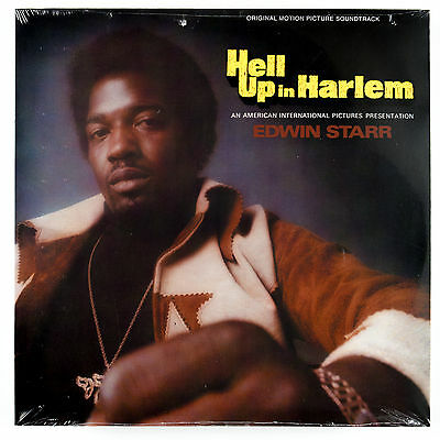 EDWIN STARR Hell Up In Harlem OST LP NEW SEALED VINYL