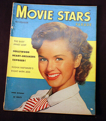 Vintage Movie Stars Parade Hollywood Magazine 1953 Debbie Reynolds Cover