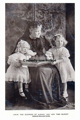 mm959 - Duchess of Albany & her 2 Eldest Grand-Daughters - photo 6x4