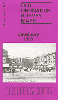 Old Ordnance Survey Map Dewsbury 1905
