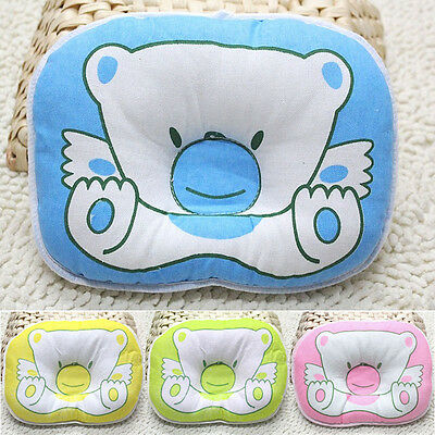 Newborn Baby Infant Prevent Flat Head Shape Support Sleeping Positioner Pillow