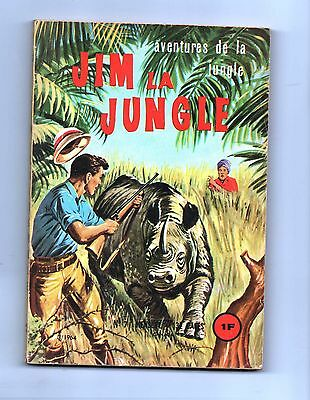 JIM LA JUNGLE n°7. EDI EUROP 1964. Bel état