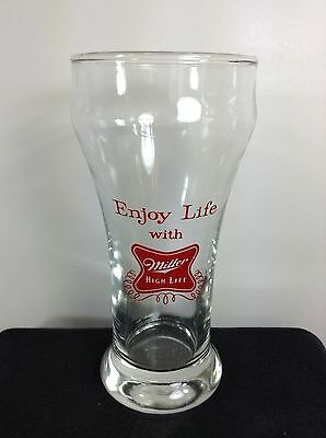 Miller High Life Beer Glass Milwaukee WI Vintage