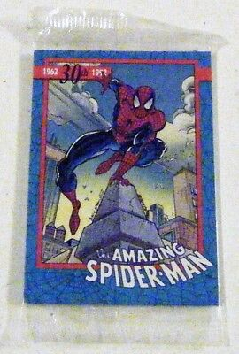 AMAZING SPIDER-MAN: 30TH ANNIVERSARY PROMO Trading Cards - NEW & Sealed ~ 1992