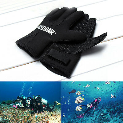 3mm/5mm Neoprene Diving Surfing Snorkeling Swim Kayak Skid-proof Gloves 5 Size