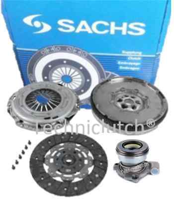 Vauxhall Vectra 150 1.9 Cdti 16V F40 Dual Mass Flywheel And Clutch Kit With Csc