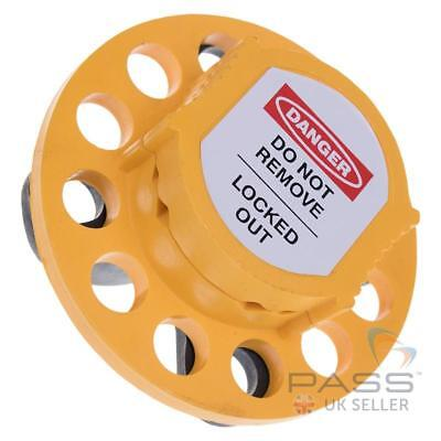 LOTO Universal Multipurpose Lockout Hasp Only - Yellow / Black
