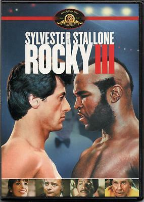 Rocky III  (DVD slim case) 1982 Sylvester Stallone NEW