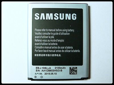 New Original OEM Samsung Galaxy S3 i747 T999 i535 Battery 2100mAh EB-L1G6LLA