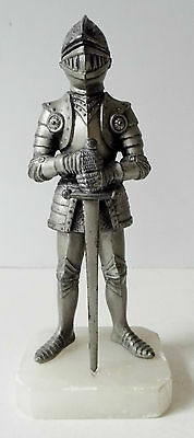 RARE OLD 1920's / 1930's ART DECO KNIGHT / SUIT OF ARMOUR TABLE LIGHTER - SUPERB