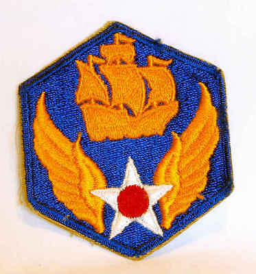 Wwii Ww2 Aaf Army Air Force 6Th Air Force Ssi Cut Edge Patch