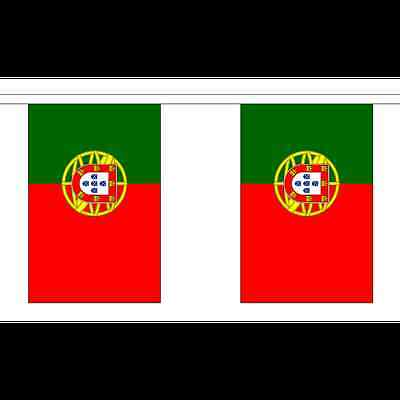 3m long with 10 Flags Portugal Madeira Polyester Flag Bunting