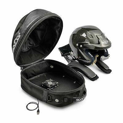 Sparco Cosmos, Helmet And HANS / FHR Race USB 12v Dryer Holdall / Bag (016433N)