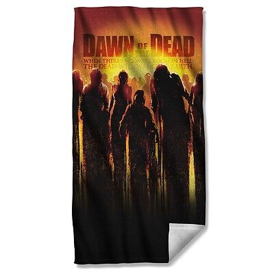 """Dawn Of The Dead Movie Poster Licensed Beach Towel 30"""" X 60"""""""