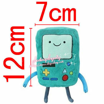 Adventure Time Plush BMO Beemo Game Boy Soft Green Doll Favorite Deluxe 12CM