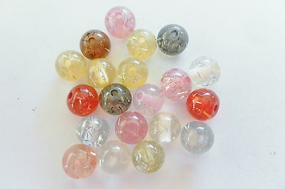 20g Acrylic Assorted 15mm Starburst Beads Bright Bead Jewellery Making PJS131