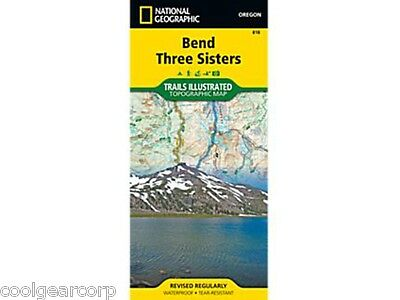 National Geographic Trails Illustrated Oregon Bend/ Three Sisters Map 818