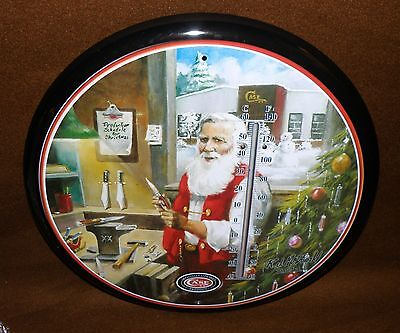 """Case XX Knife """"Twas the Night Before Christmas"""" Thermometer 14"""" R.J. McDonald"""