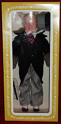 Vintage-1980 W.C. Fields, 1st Dressing Lt. Ed. Centennial Doll- Factory Strapped