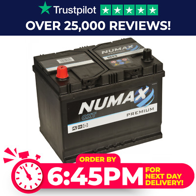 072 Titanium Car Battery 12V 640A - Heavy Duty