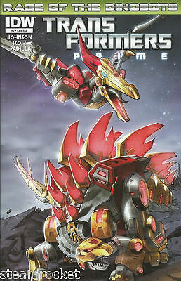 TRANSFORMERS PRIME #2-A RI Retailer Incentive Variant - Rage of the Dinobots