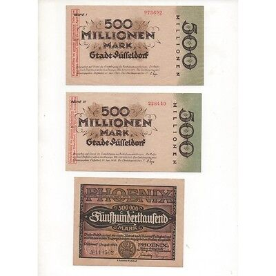 NOTGELD - DUSSELDORF - 16 different notes (D078) [D078 DEUTCH-LADG.]