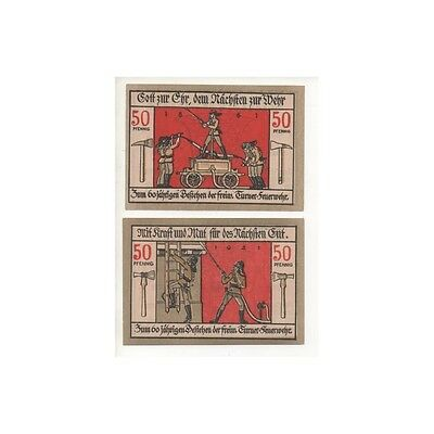 NOTGELD - LANGENSALZA - 2 different notes (L024) -.L024 ALLEM