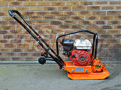 C60HC 6.5hp PETROL VIBRATING PLATE COMPACTOR WHACKER COMPACTION PLATE WACKER