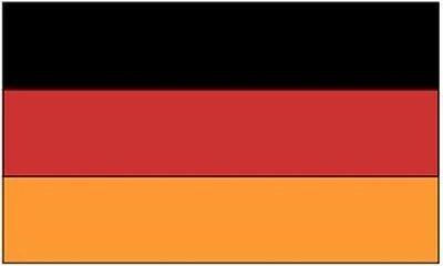 3x5 ft GERMANY COUNTRY FLAG 1990 - Present   Lightweight Print Polyester Flag