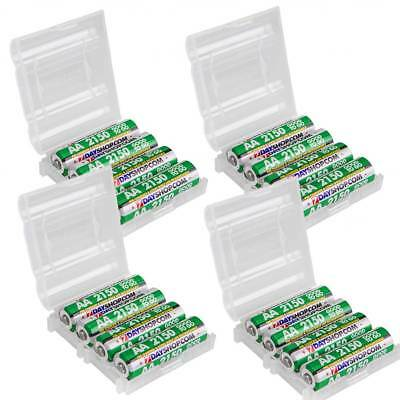 16x AA HR06 7dayshop 2150mAh Good to Go STAY CHARGED NiMH Rechargeable Batteries