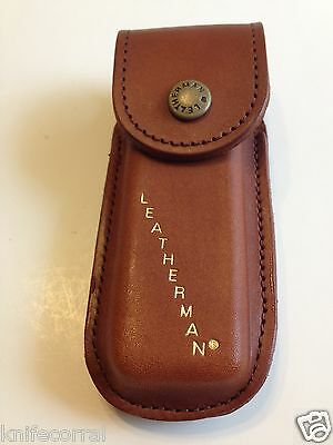 LEATHERMAN DISCONTINUED 938650 Original Wave BROWN Leather Sheath NEW