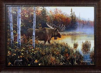 Jim Hansel Master of His Domain Framed Print-Signed and Numbered