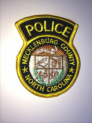 NORTH CAROLINA POLICE PATCH CITY OF HECKLENBURG POLICE DEPARTMENT