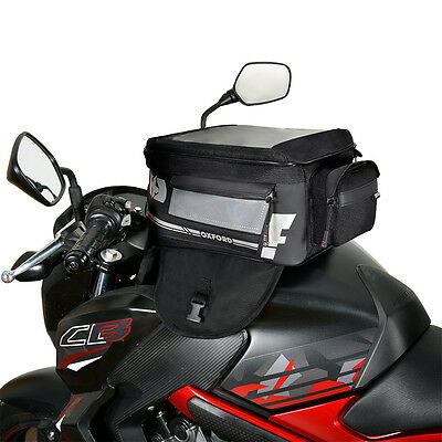 Oxford First 1st Time Magnetic Tank Bag Motorbike Motorcycle Tankbag Luggage 18L