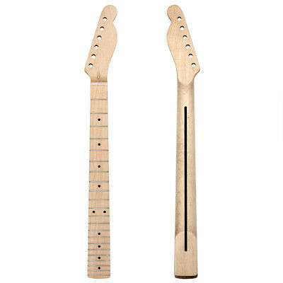 Kmise Electric Guitar Neck for TL Parts Replacement Maple 22 Fret Rosewood Inlay