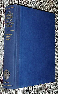 The Oxford History of Classical World,Boardman,VG-,HB,1986  J
