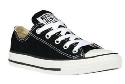 CONVERSE Kids Sneakers All Star Chuck Taylor Black Athletic Shoes Youth 3J235