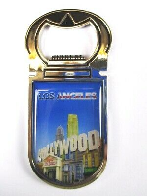 Los Angeles Hollywood  Magnet Flaschenöffner Amerika USA Souvenir Bottle Opener