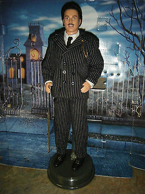 Barbie The Addams Family Ken As Gomez & Doll Stand