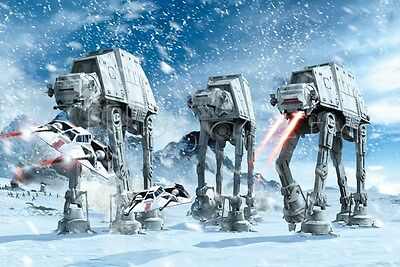 Star Wars Hoth Battle New Large Maxi poster 61cm x 91.5cm FP3030 163
