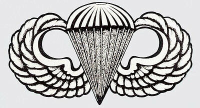 Us Army Airborne Sticker - Decal- Made In The Usa!!