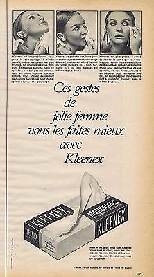 Publicité Advertising 1972 Les Mouchoirs Polivé Other Breweriana