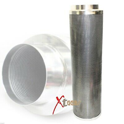 """8"""" Inch 1100CFM Inline Air Carbon Charcoal Air Filter Scrubber for Odor Control"""